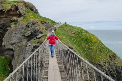 Carrick-a-Rede Rope Bridge, Nord-Irland